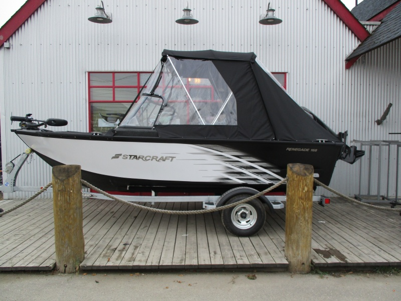 NEW 2018 STARCRAFT 168 Renegade DC W/90HP 4STK - Boathouse Marine