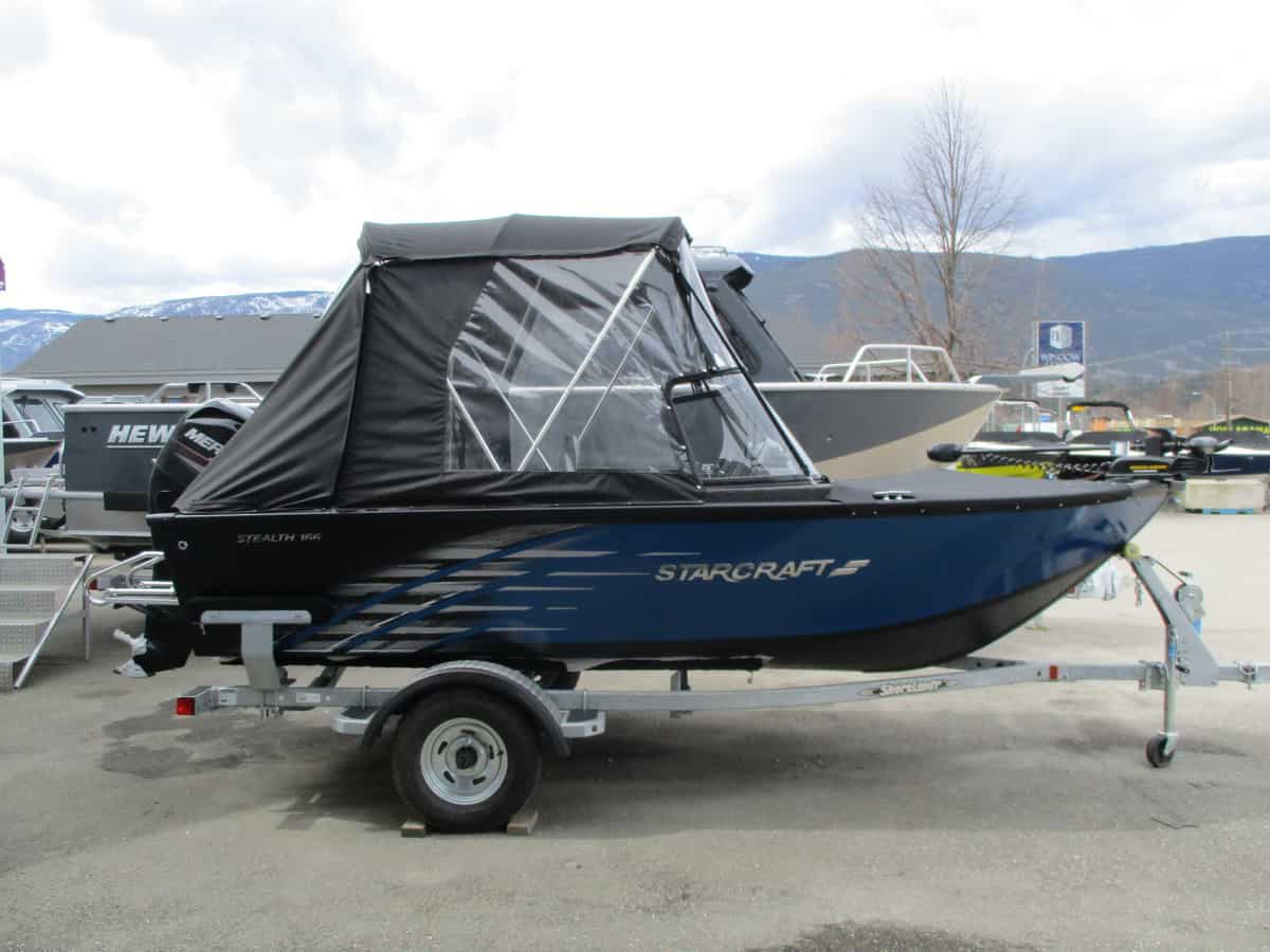NEW 2019 STARCRAFT 166 Stealth DC W/60 HP 4STK - Boathouse Marine