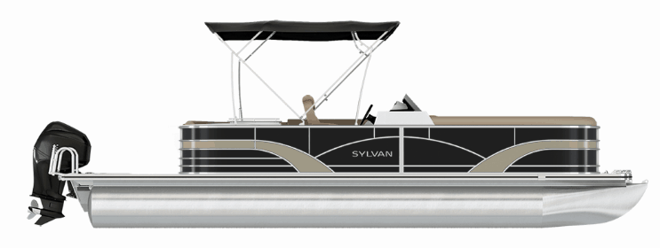 NEW 2018 SYLVAN 8522 LZ PORT BAR LE TRI-TOON - Boathouse Marine