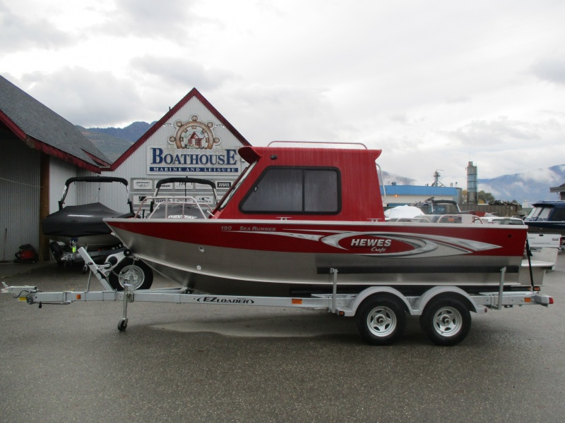 NEW 2018 HEWESCRAFT 190 SEARUNNER ET HT W/ F150 - Boathouse Marine