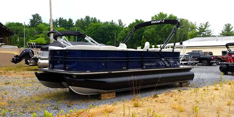 NEW 2018 STARCRAFT SLS 3 Tri Toon W/ 150 HP - Boathouse Marine