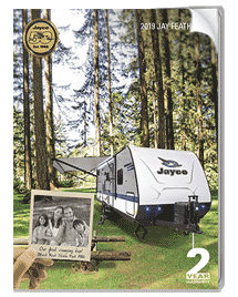 Jay Feather ultra lite travel trailers Brochure