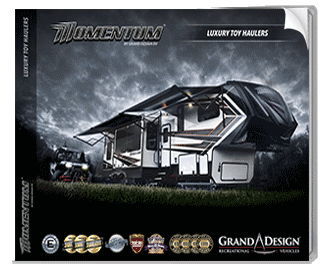 Grand Design Momentum Toy Hauler Brochure