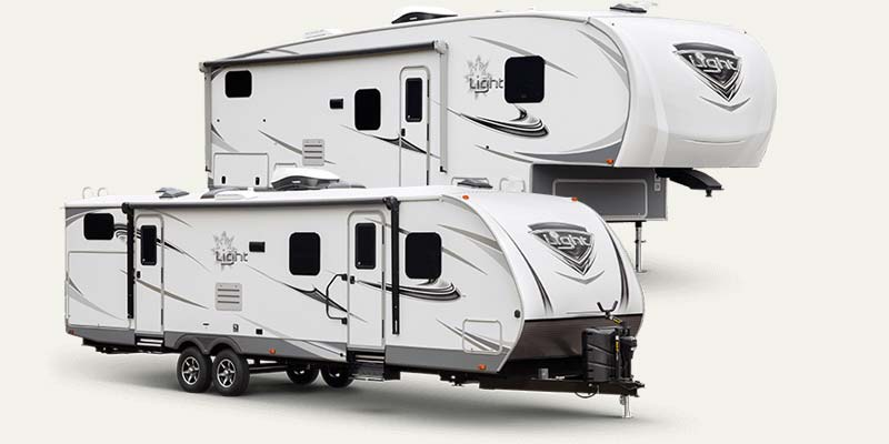 Open Range Light travel trailers and fifth wheels by Highland Ridge.