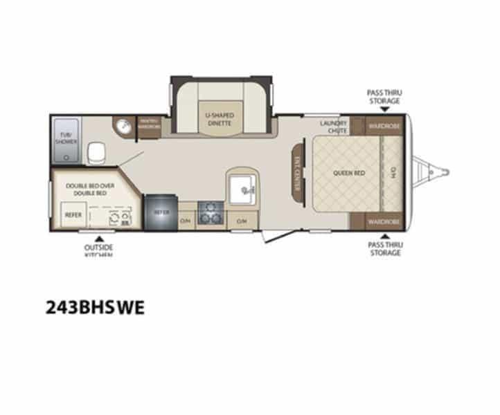 NEW 2017 Keystone BULLET 243 BHS