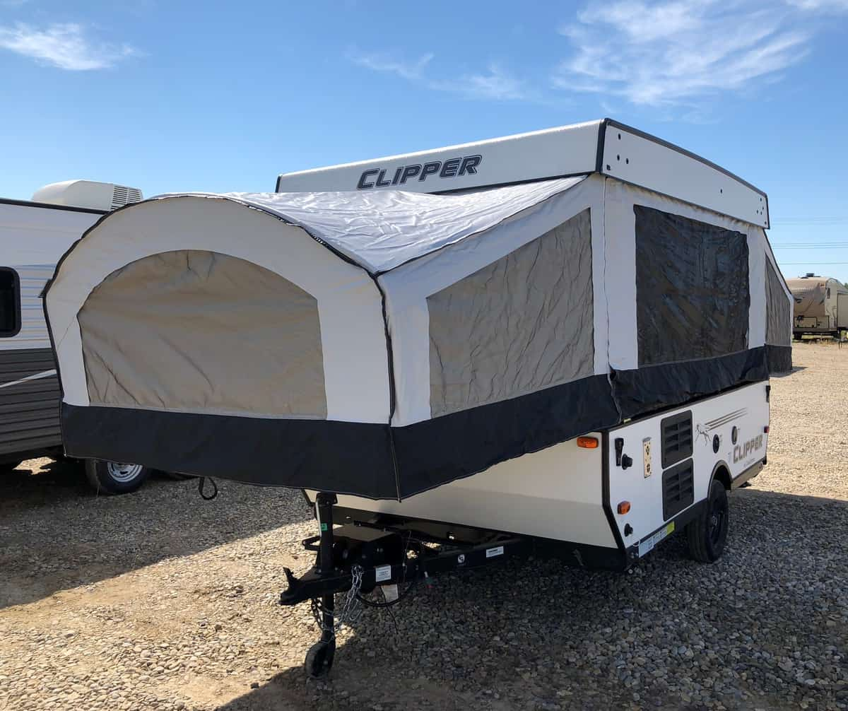 NEW 2018 Forest River CLIPPER 107 LS