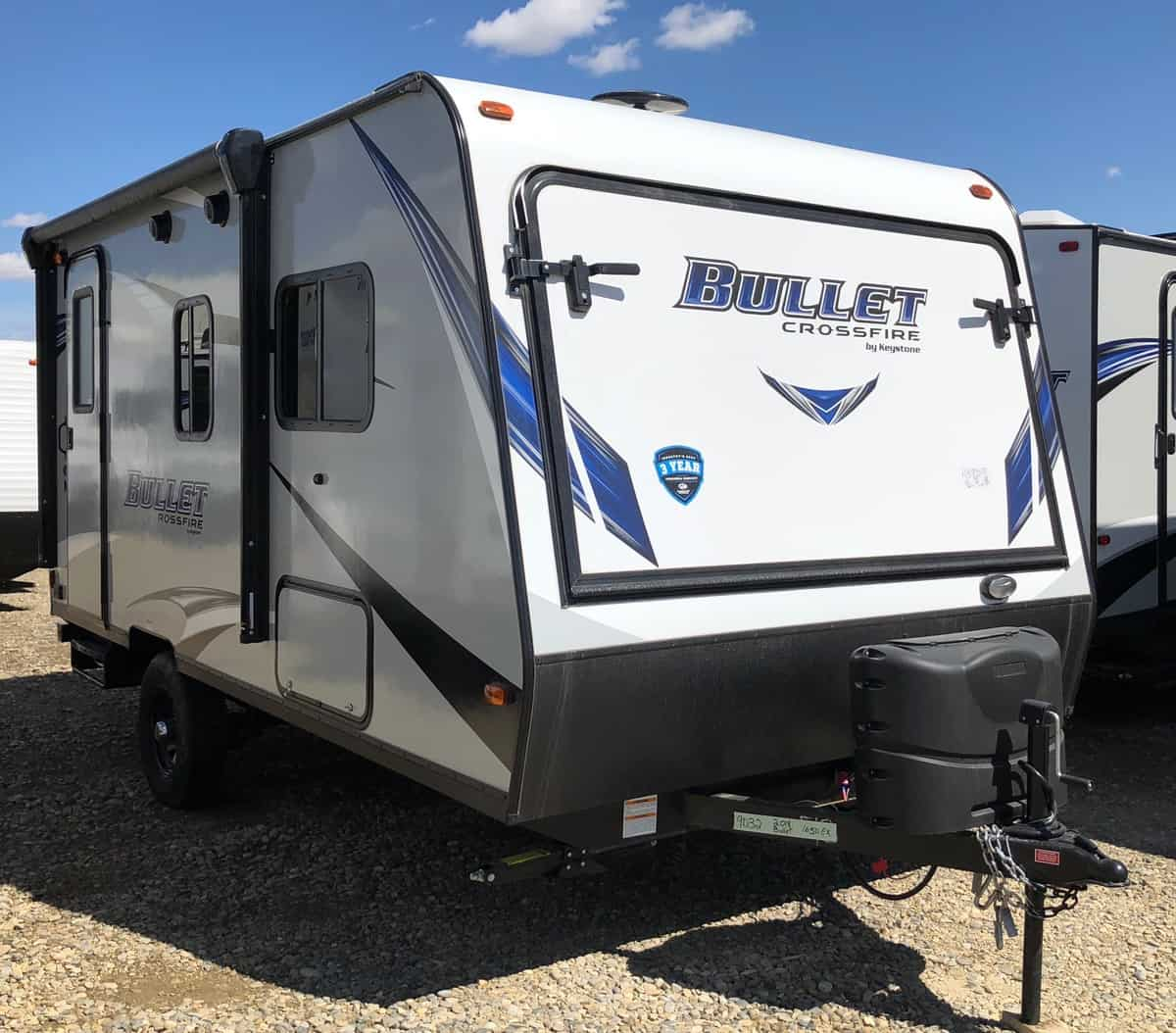 NEW 2018 Keystone BULLET CROSSFIRE 1650EX