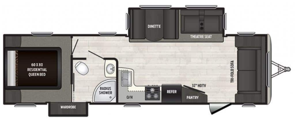 NEW 2019 KEYSTONE SPRINTER 30 FL