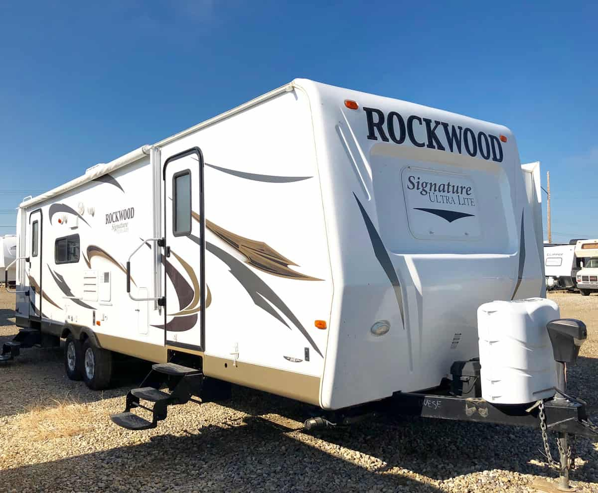 USED 2012 Forest River ROCKWOOD 8314 BSS