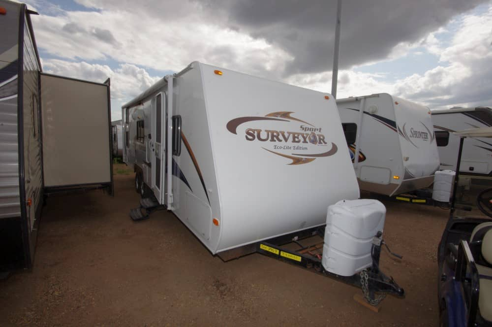 USED 2011 Forest River SURVEYOR 280 BH