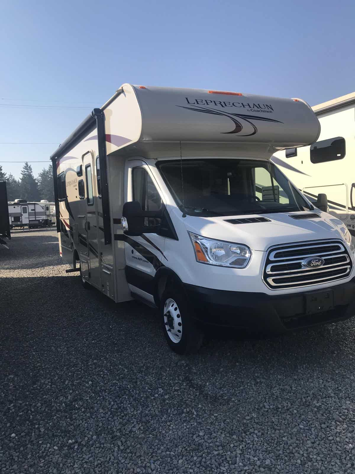USED 2020 Coachmen Leprechaun 200CBT