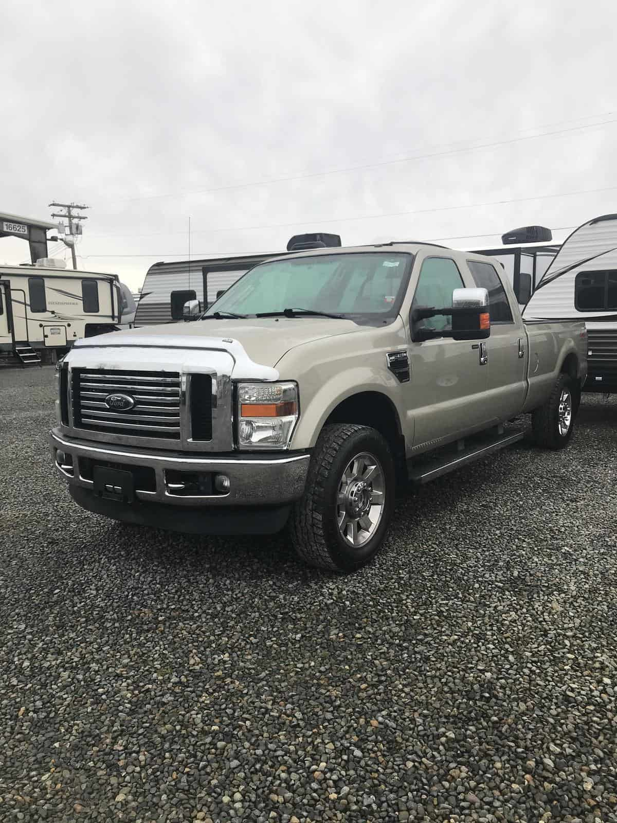 USED 2009 FORD F250SD LARIAT