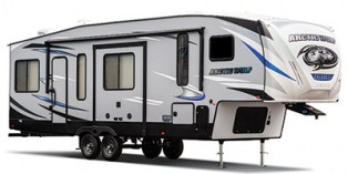 NEW 2021 Forest River Cherokee Arctic Wolf 3990SUITE