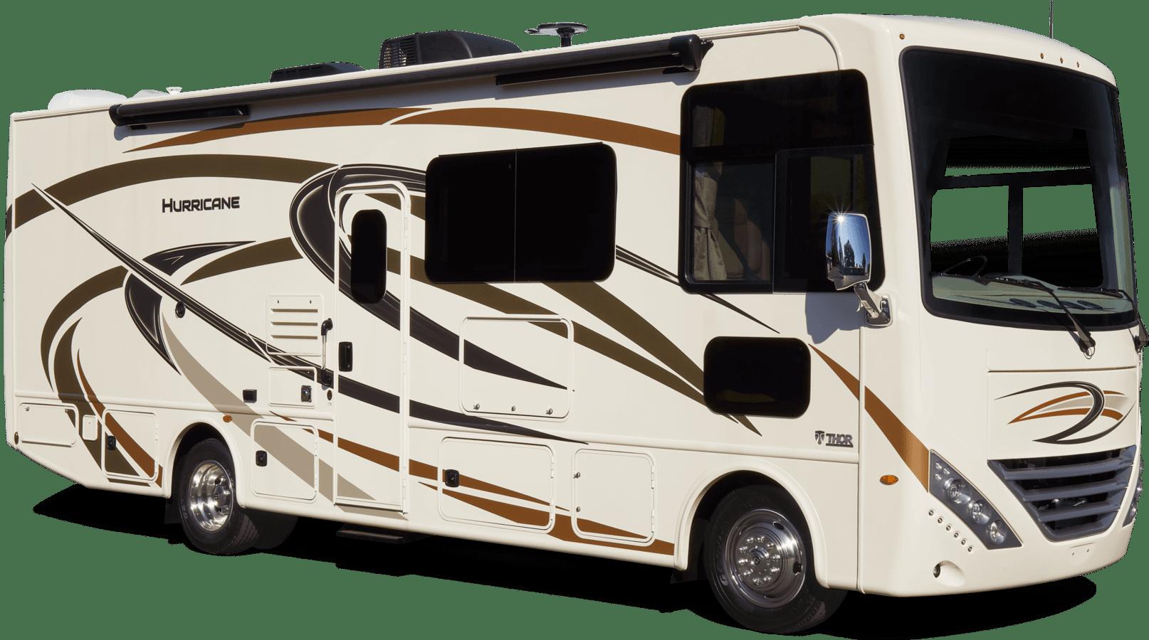 NEW 2021 THOR MOTOR COACH INC HURRICANE 34R