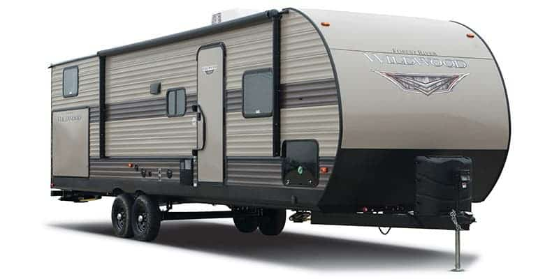 USED 2019 FOREST RIVER WILDWOOD 31KQBTS
