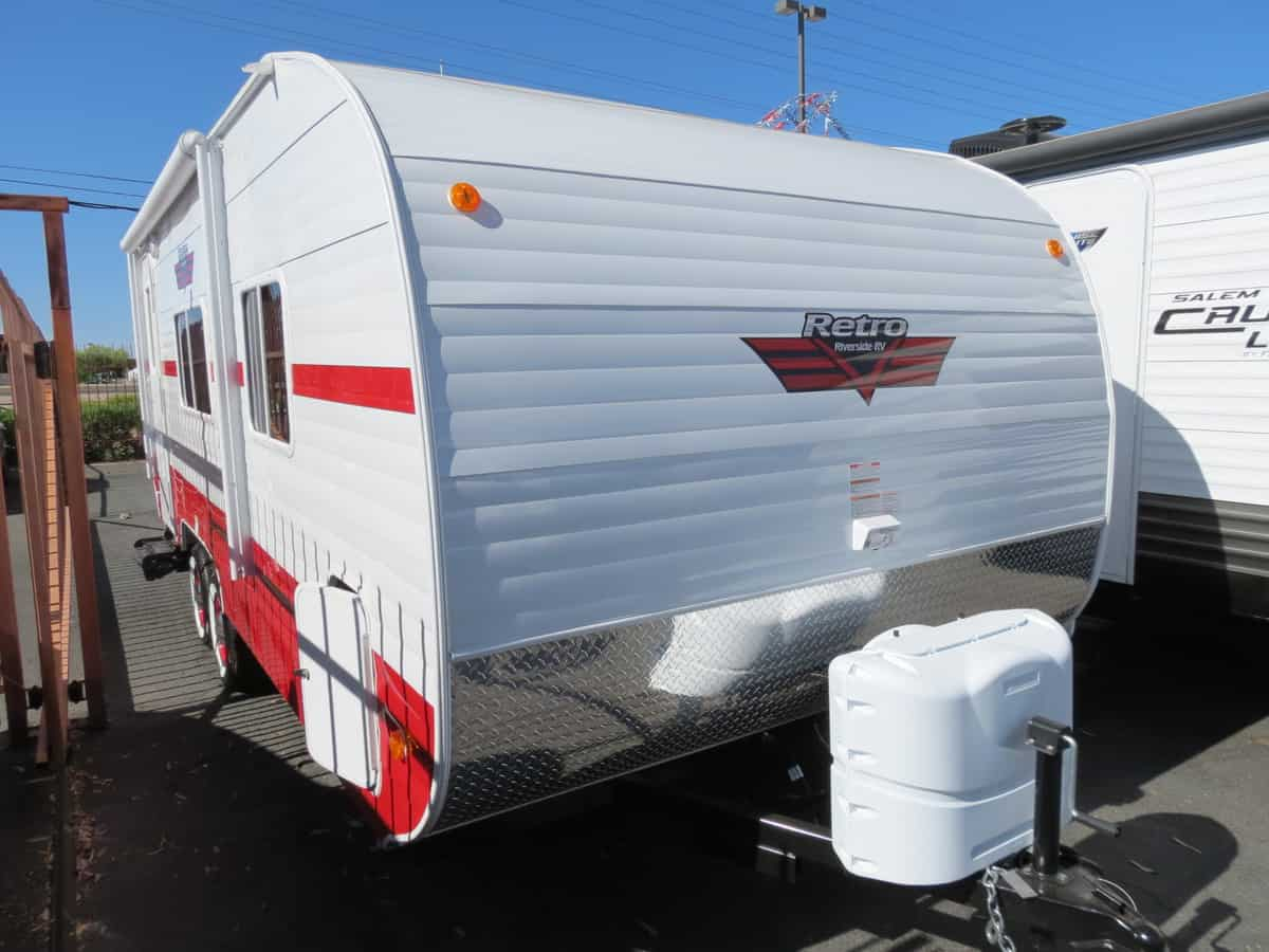 NEW 2019 Riverside White Water Retro 189R - Freedom RV