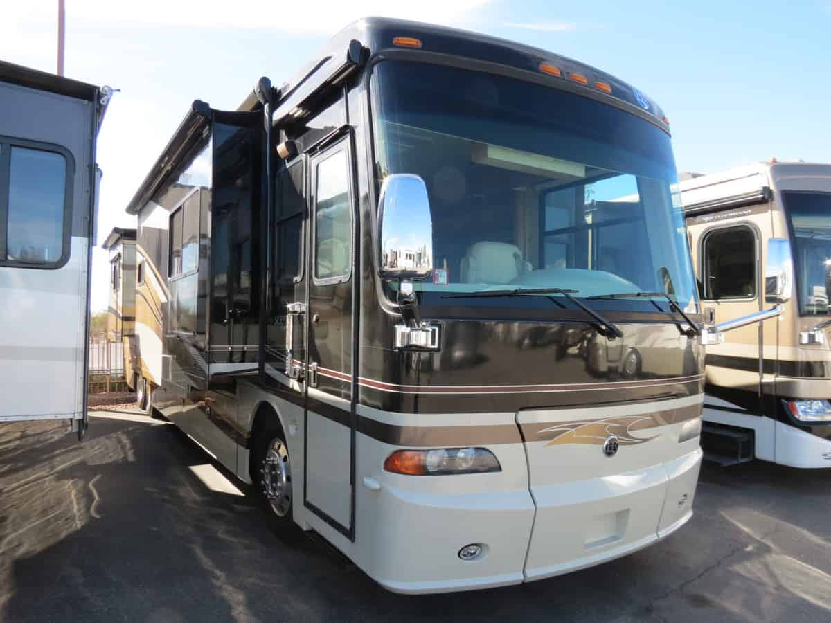 USED 2008 Holiday Rambler Scepter 42PDQ