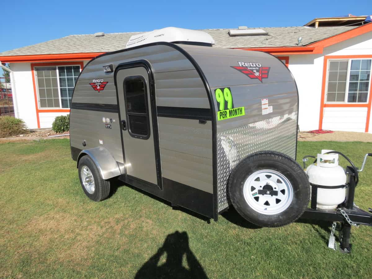 NEW 2019 Riverside White Water Retro 509 - Freedom RV