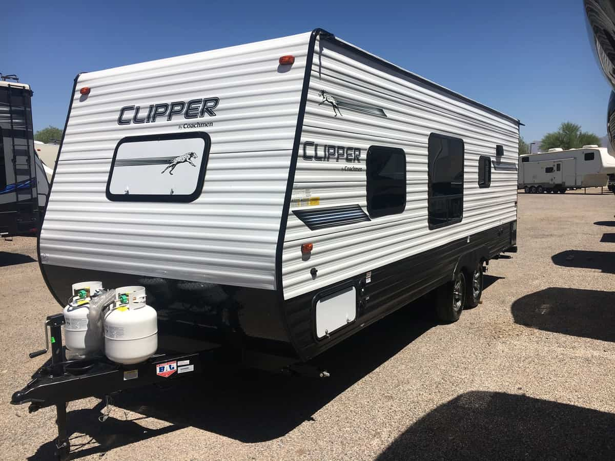 NEW 2019 Forest River Clipper 21FQ - Freedom RV