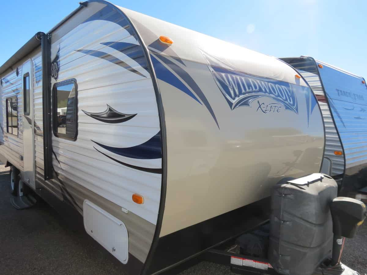USED 2016 Forest River Wildwood 26BH - Freedom RV