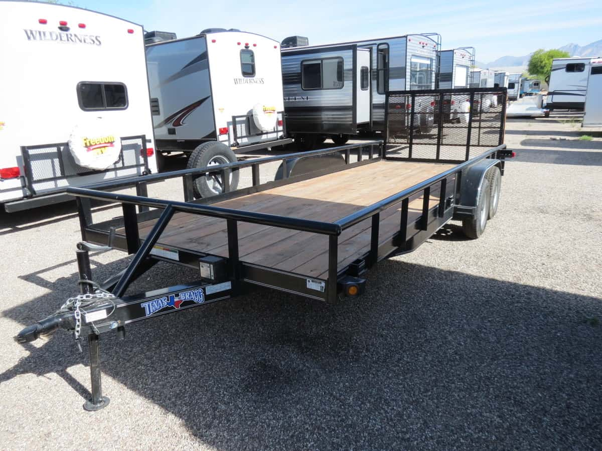 USED 2018 Big Tex Aluminum 18 FT - Freedom RV