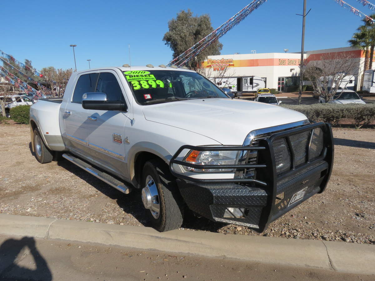 USED 2010 Dodge Ram 3500 DUALLY - Freedom RV