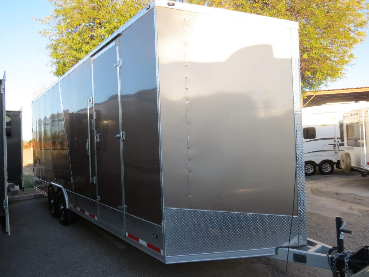USED 2016 Stealth Trailer Cargo 8X24 - Freedom RV