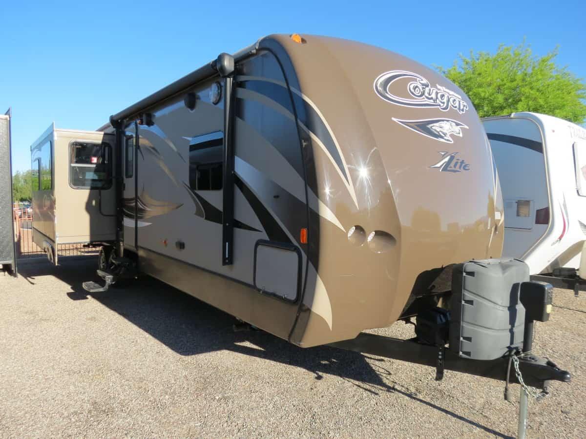 USED 2015 Keystone Cougar 31RL - Freedom RV