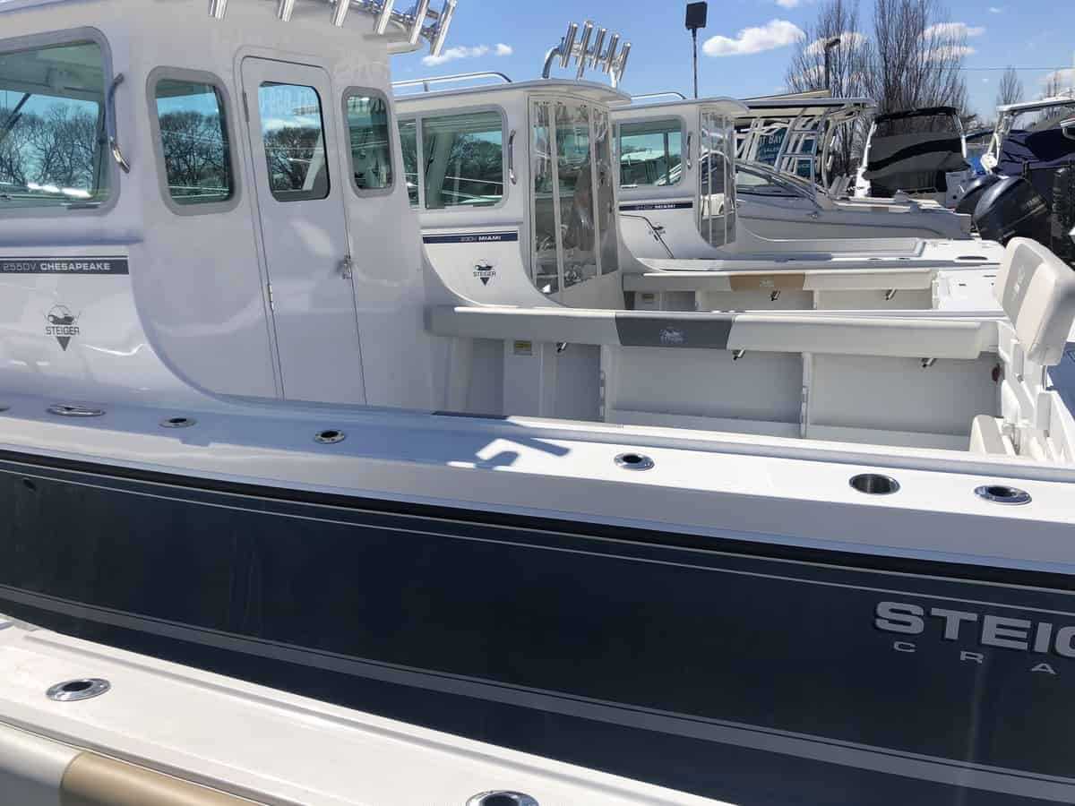 NEW 2019 Steiger Craft 255DV Chesapeake - Great Bay Marine