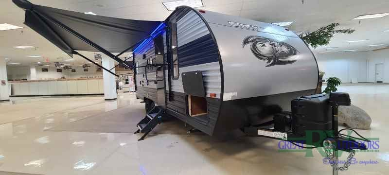 NEW 2021 Forest River Grey Wolf 20RDSE