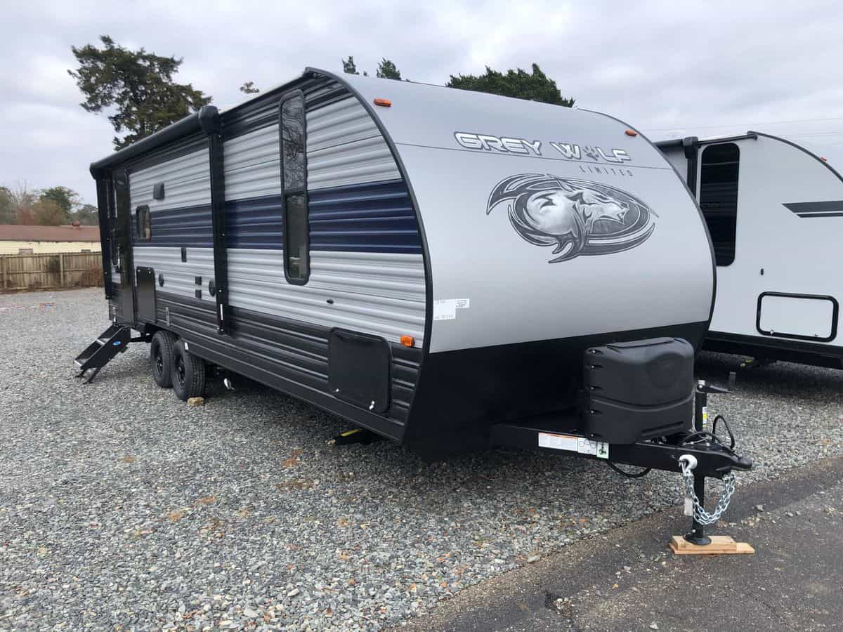 NEW 2021 Forest River Grey Wolf 23MK