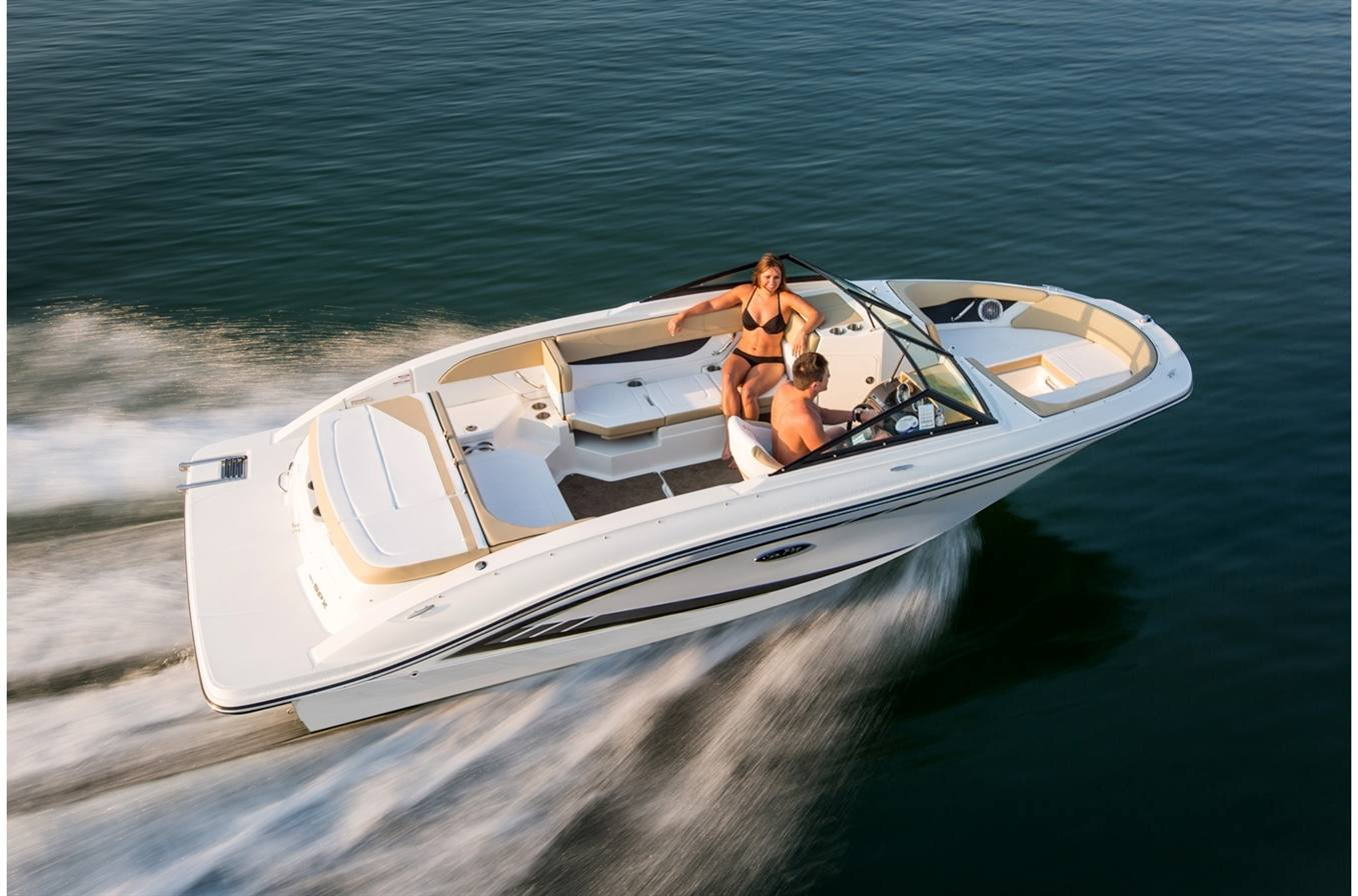 NEW 2018 Sea Ray SPX 210 - Hutchinson's Boat Works