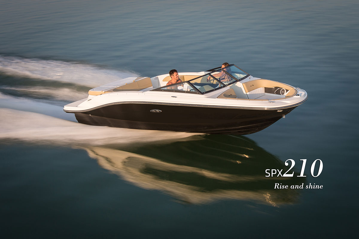 New 2019 Sea Ray 21 SPX - Hutchinson's Boat Works