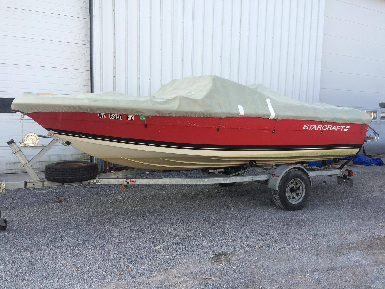 USED 1987 Starcraft 1900 Medalist - Hutchinson's Boat Works