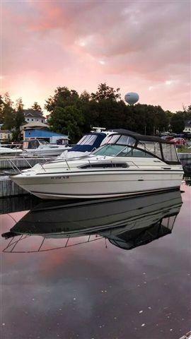 USED 1985 Sea Ray 260 Weekender - Hutchinson's Boat Works