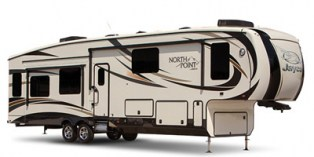 2016 JAYCO NORTH POINT 311 RKTS