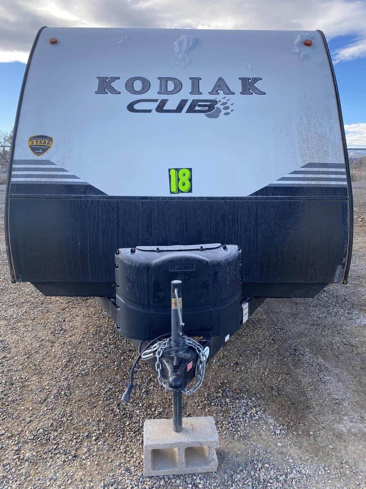 2018 DUTCHMEN 185MB KODIAK