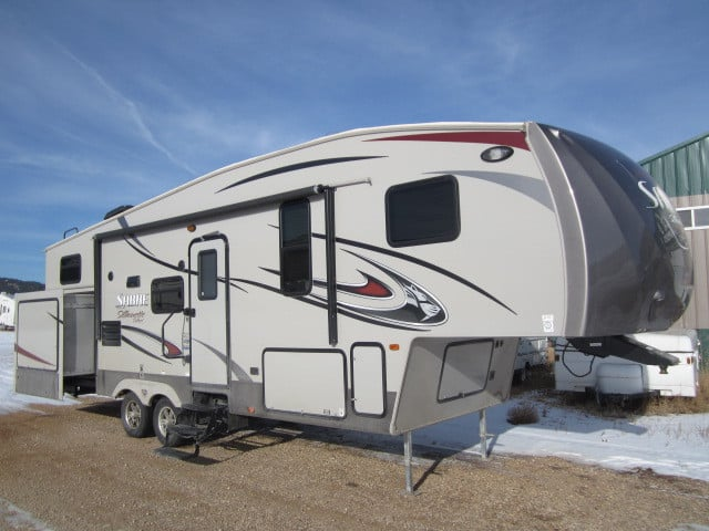 USED 2015 PALOMINO SABRE SILHOUETTE SELECT 291BHTS - Jack's Campers