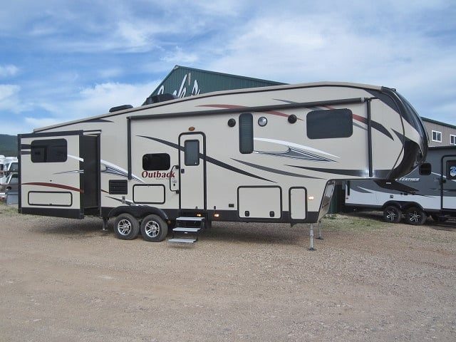 USED 2016 KEYSTONE OUTBACK 318FBH - Jack's Campers