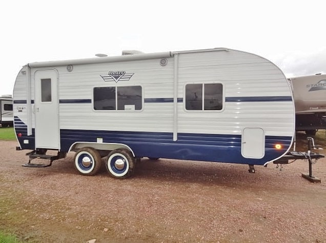 NEW 2019 RIVERSIDE RV WHITE WATER RETRO 189R - Jack's Campers
