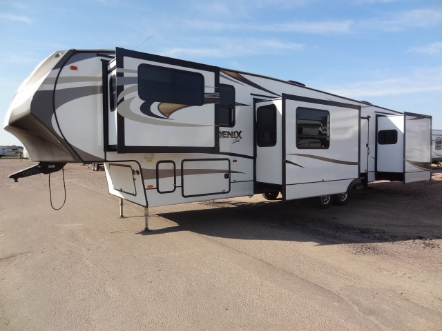 NEW 2017 FOREST RIVER SHASTA PHOENIX 370FE - Jack's Campers