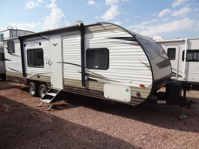 USED 2018 Forest River WILDWOOD WDT 261 BHXL - Jack's Campers