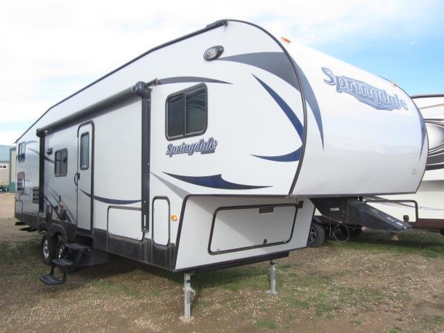 2015 KEYSTONE SPRINGDALE 286FWBH - Jack's Campers