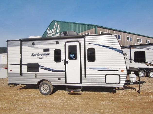 NEW 2019 KEYSTONE SPRINGDALE MINI 1760BH - Jack's Campers