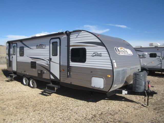 NEW 2014 FOREST RIVER SHASTA OASIS 26RL - Jack's Campers
