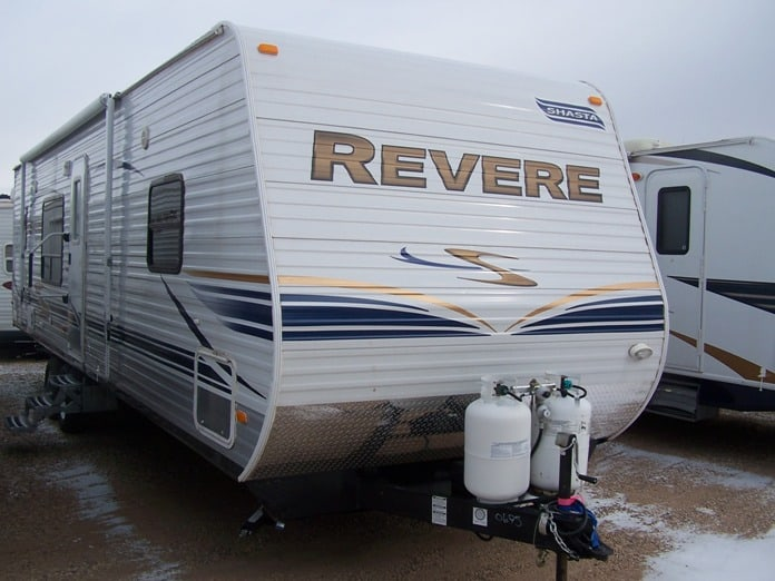 NEW 2012 FOREST RIVER SHASTA REVERE 29RKSS - Jack's Campers