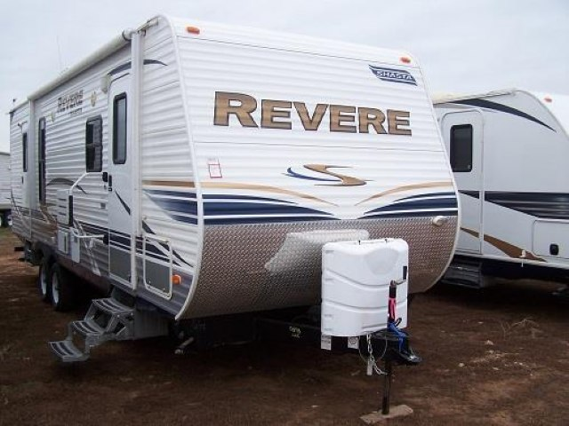 USED 2012 FOREST RIVER SHASTA REVERE 27FLBS - Jack's Campers