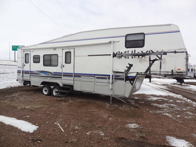 USED 1997 FLEETWOOD TERRY 32 5F - Jack's Campers