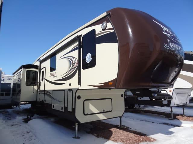 NEW 2014 JAYCO EAGLE PREMIER 361REQS - Jack's Campers