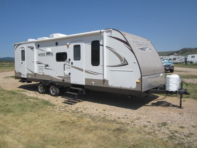USED 2013 JAYCO WHITE HAWK 28DHBS - Jack's Campers